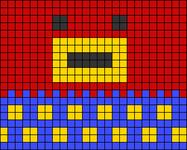 Alpha pattern #33627