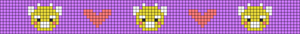 Alpha pattern #33648
