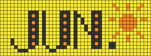 Alpha pattern #33649