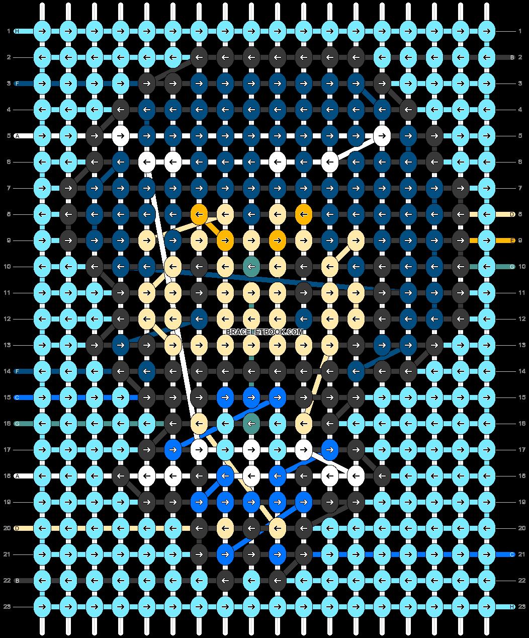 Alpha pattern #33650 pattern