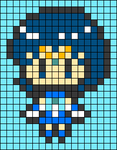 Alpha pattern #33650