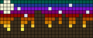 Alpha pattern #33658