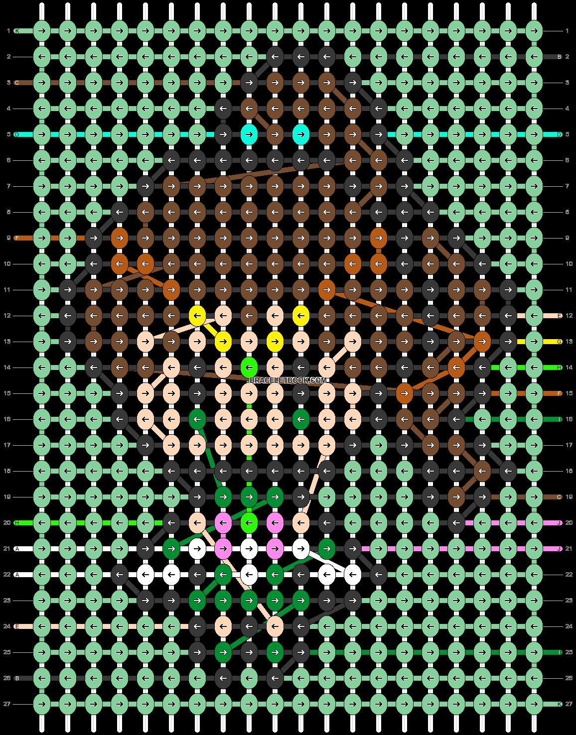 Alpha pattern #33678 pattern
