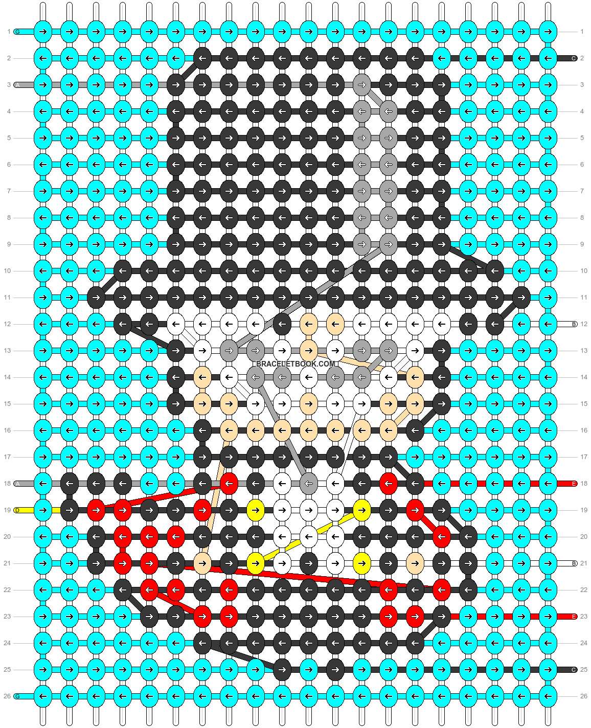 Alpha pattern #33680 pattern