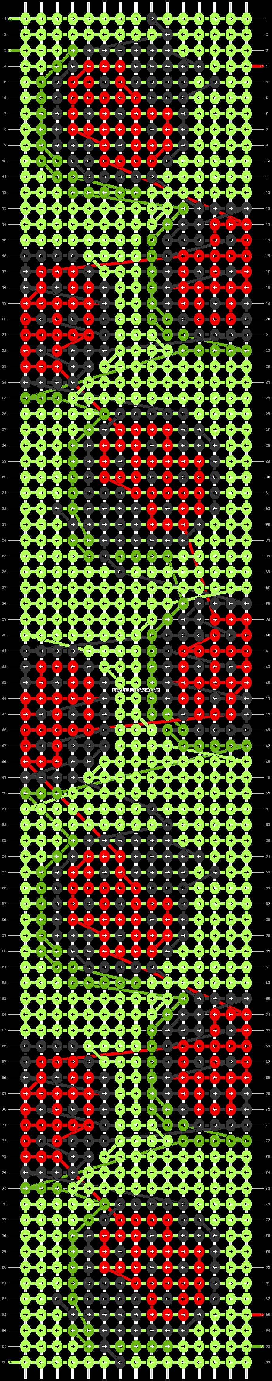Alpha pattern #33686 pattern