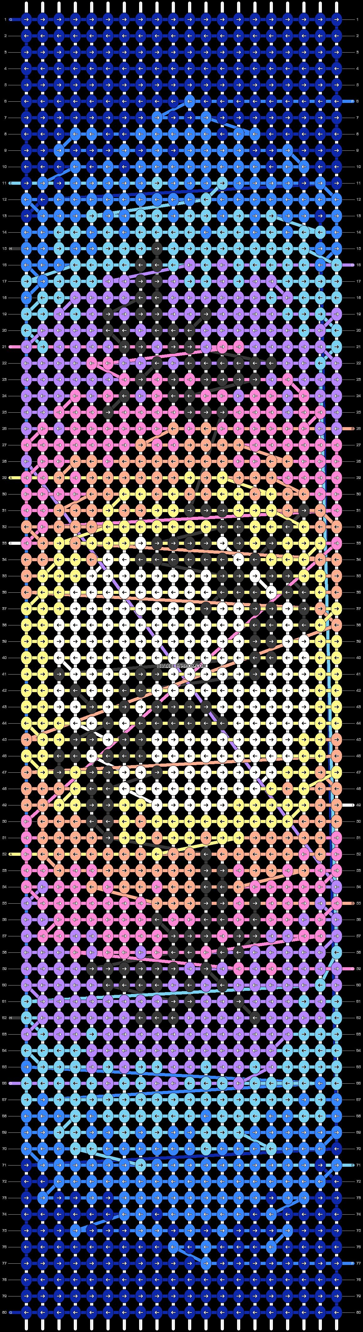 Alpha pattern #33687 pattern