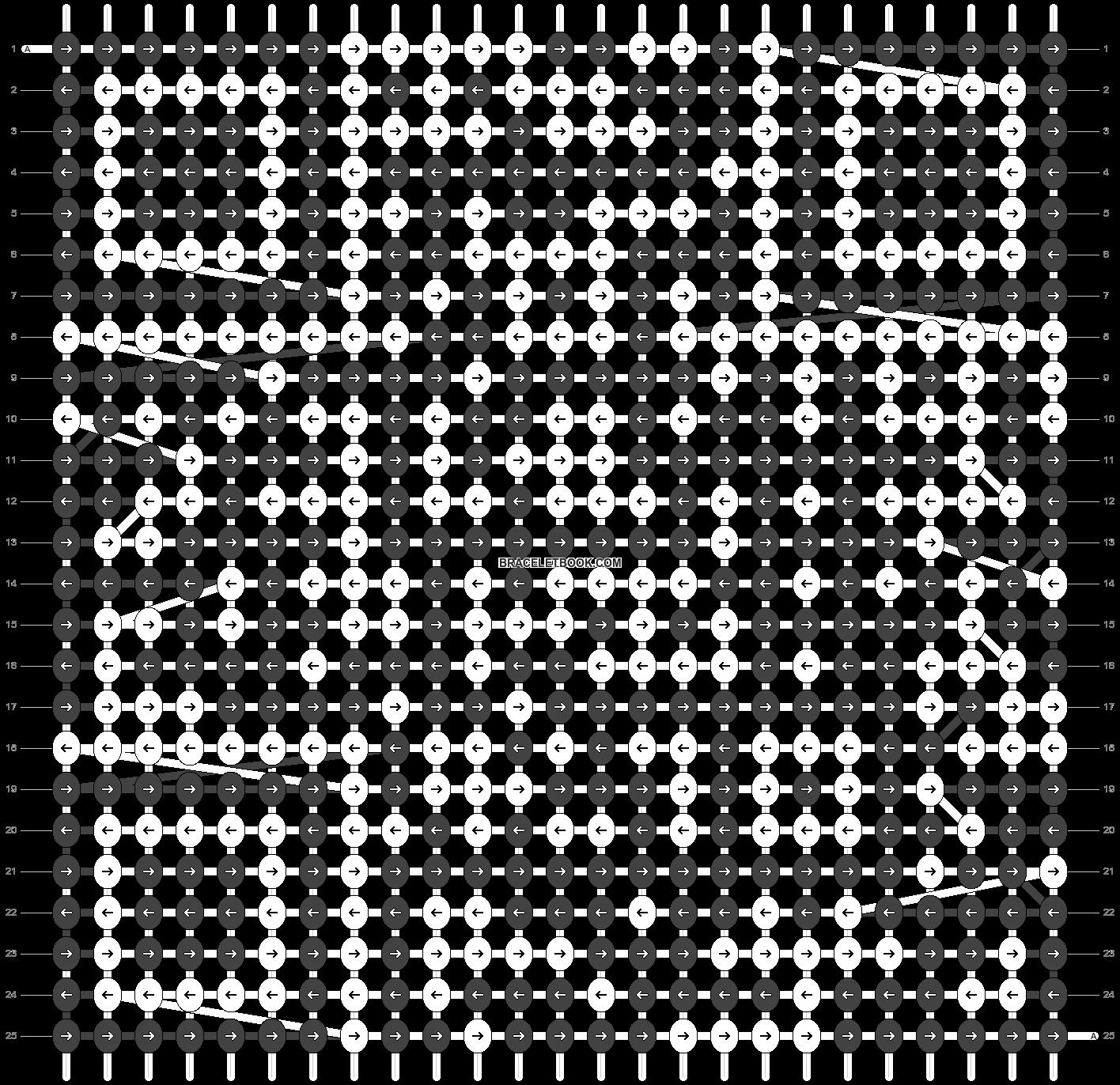 Alpha pattern #33696 pattern