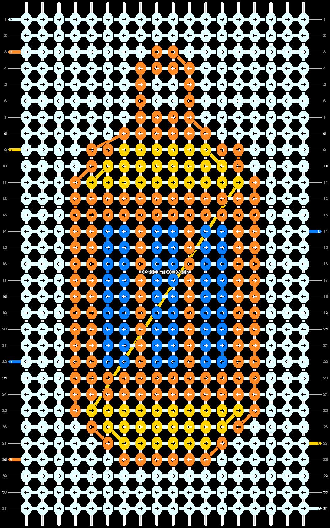 Alpha pattern #33721 pattern