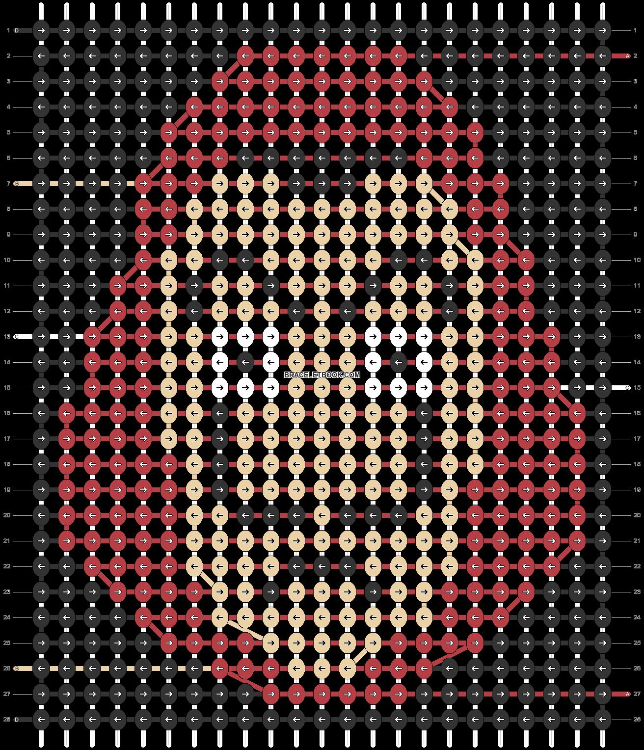 Alpha pattern #33732 pattern