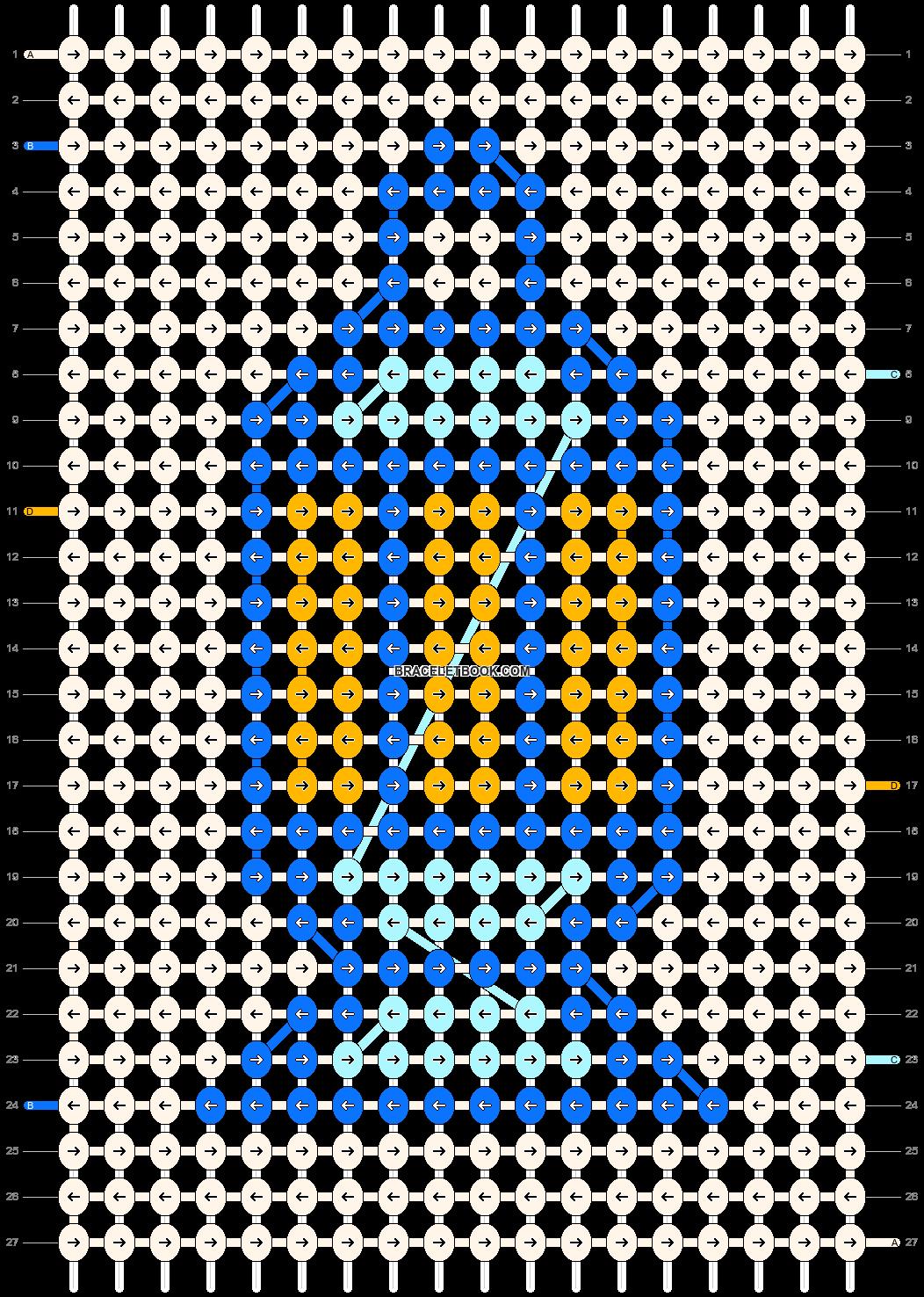 Alpha pattern #33745 pattern