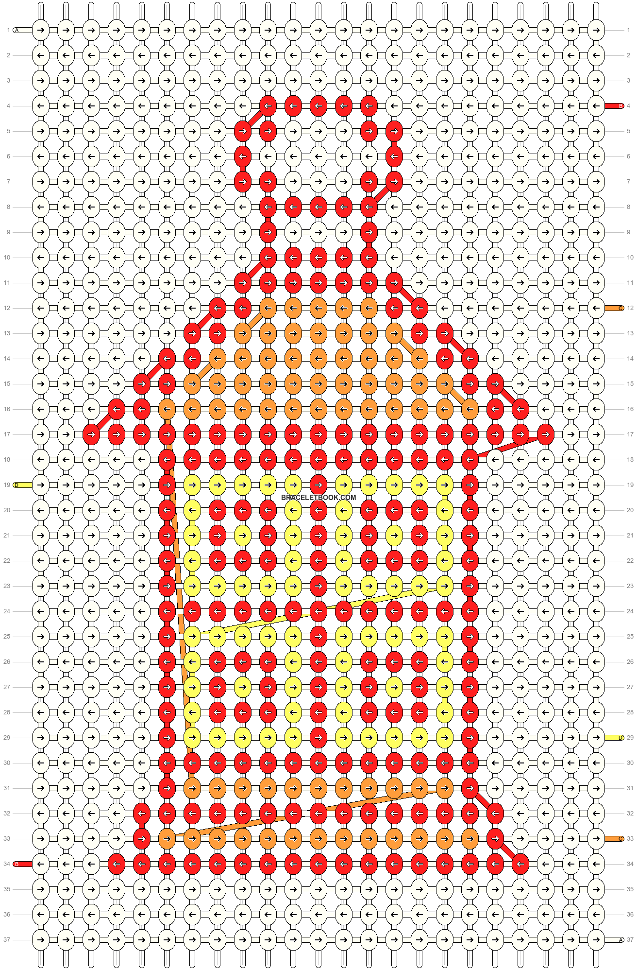 Alpha pattern #33747 pattern