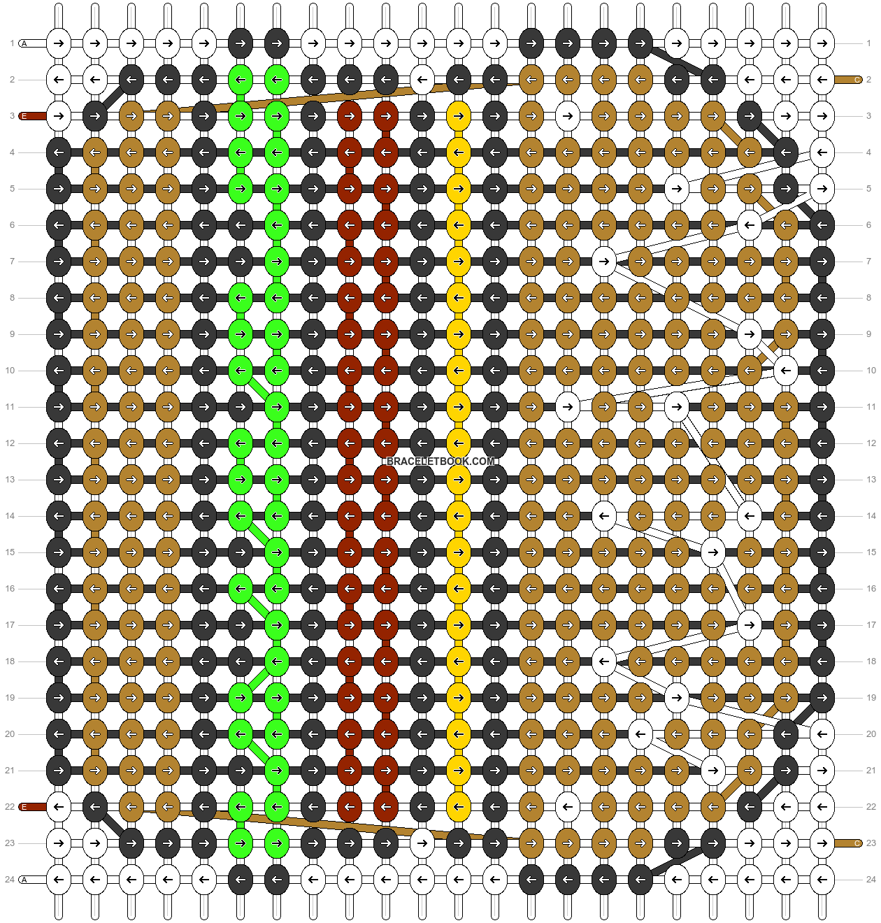 Alpha pattern #33751 pattern