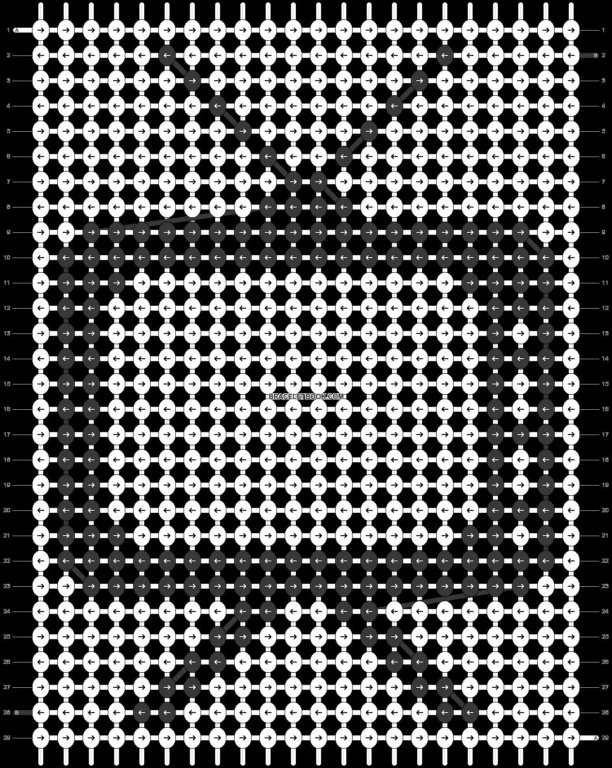 Alpha pattern #33756 pattern