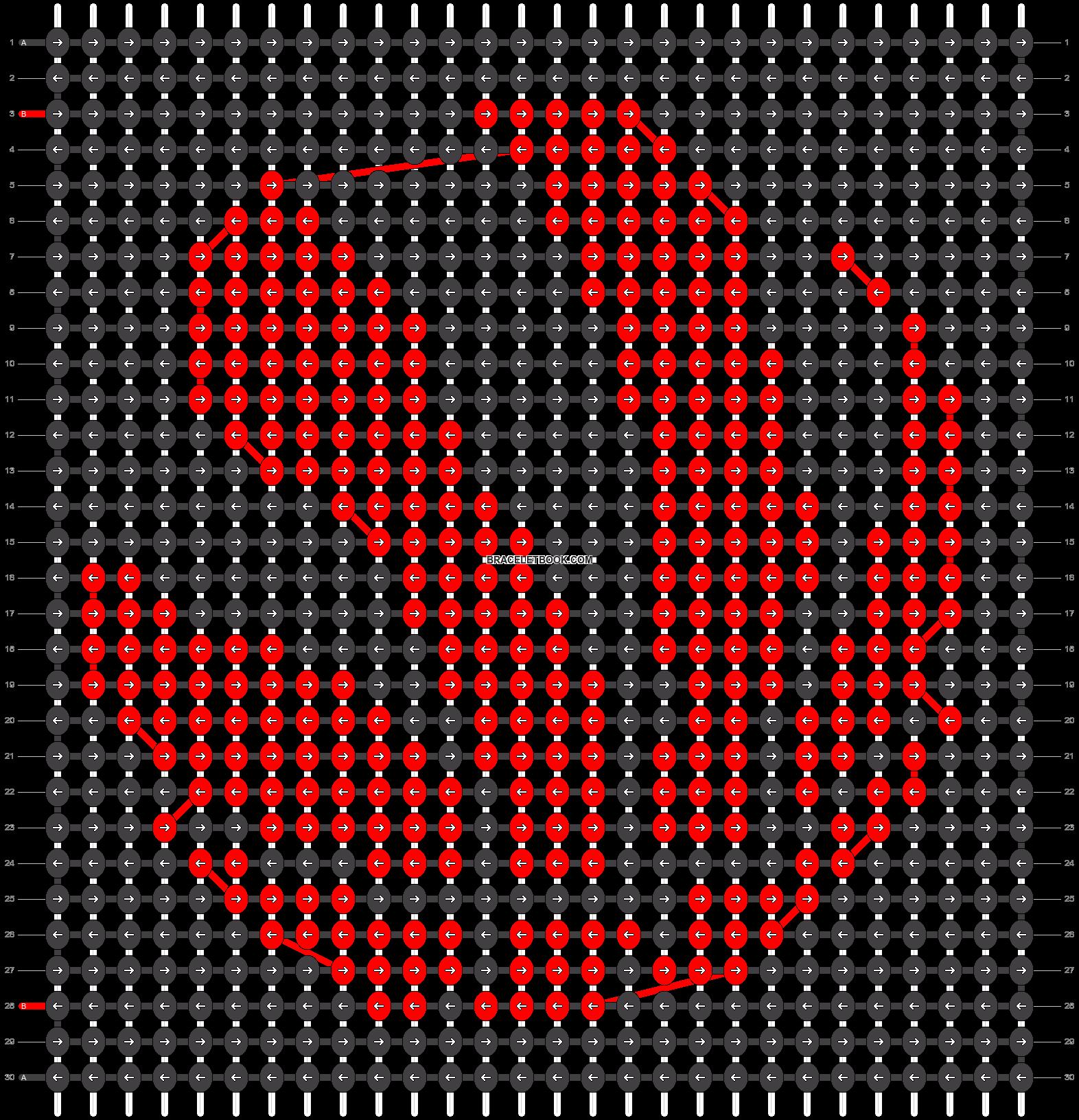 Alpha pattern #33770 pattern