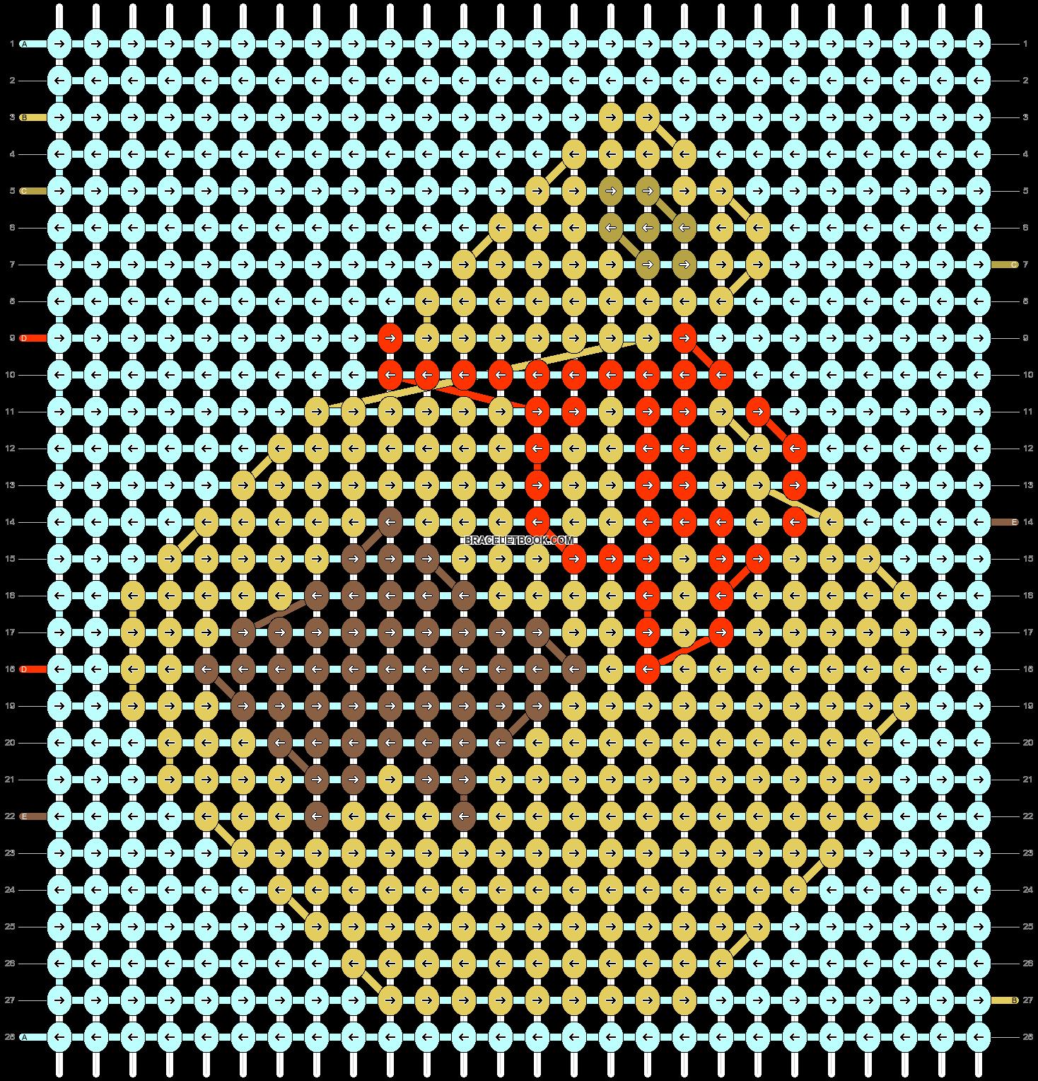 Alpha pattern #33797 pattern