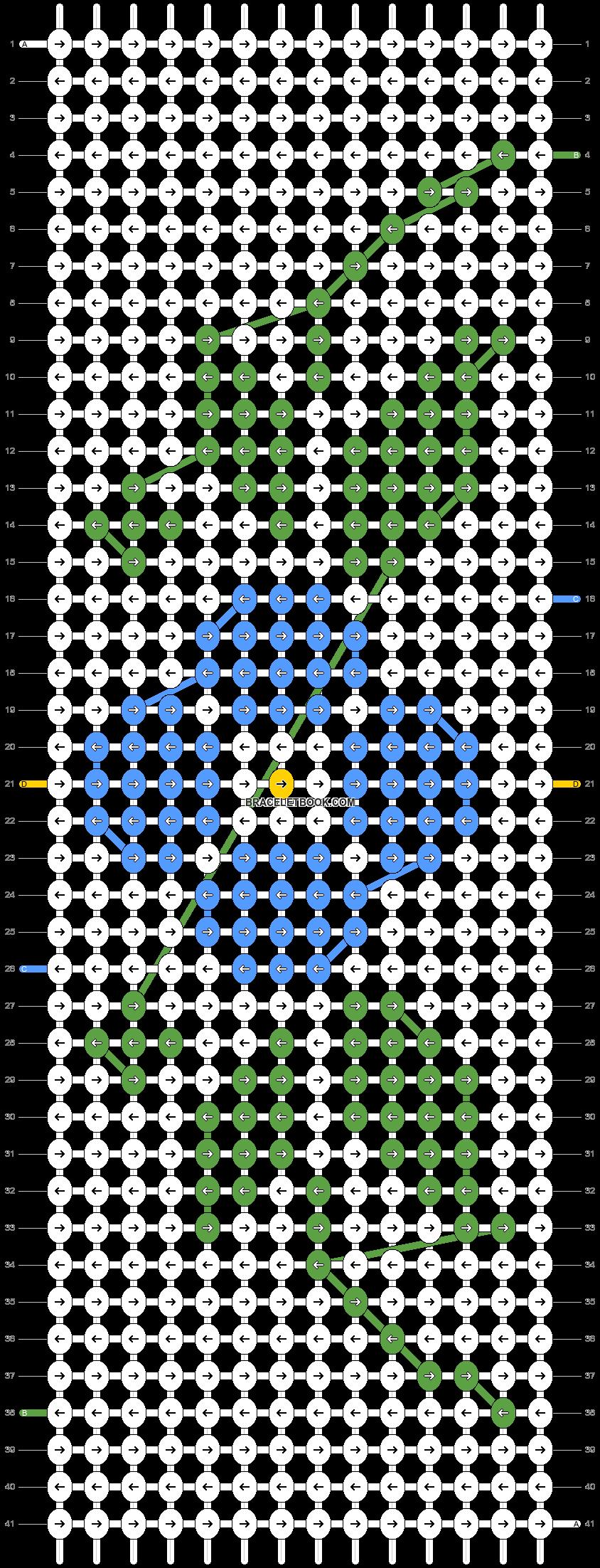 Alpha pattern #33800 pattern