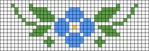 Alpha pattern #33800
