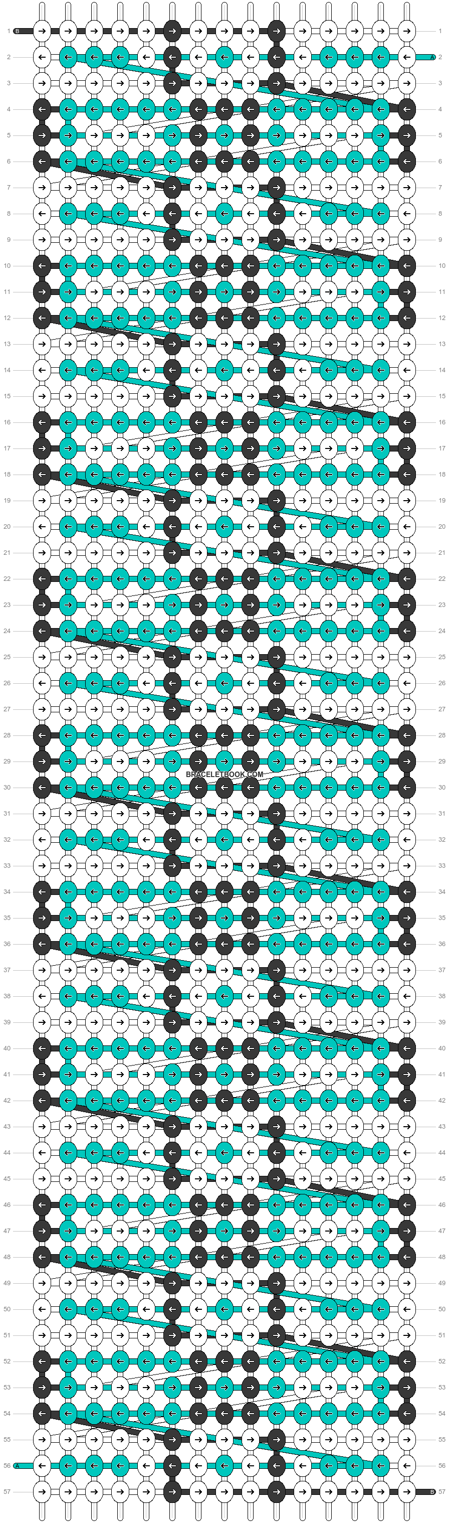 Alpha pattern #33802 pattern
