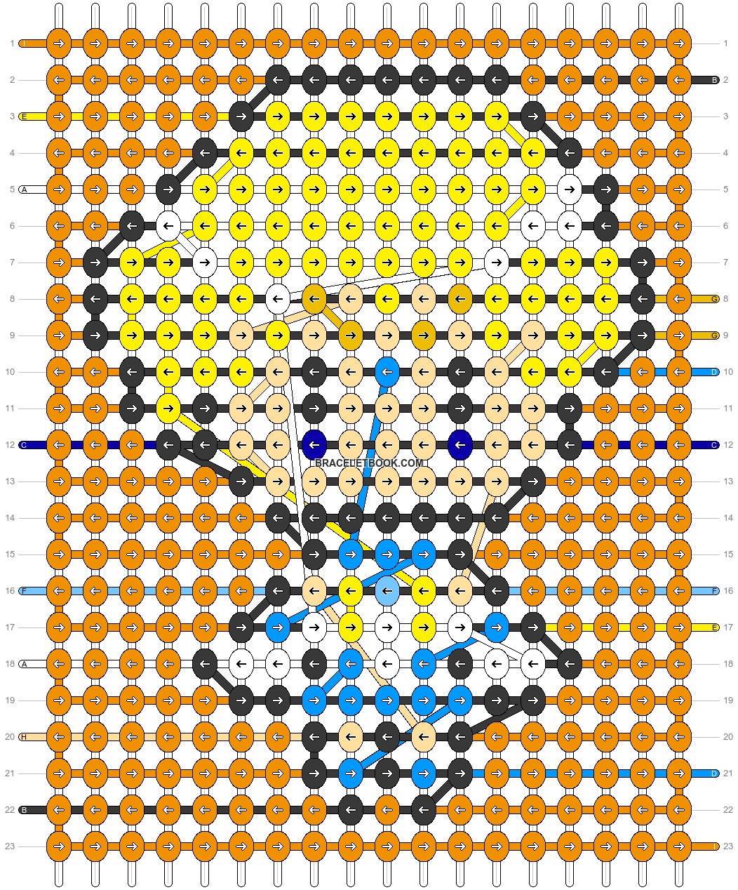 Alpha pattern #33823 pattern