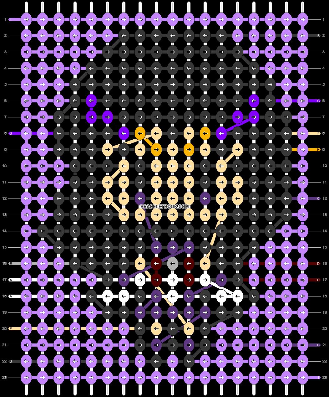 Alpha pattern #33826 pattern