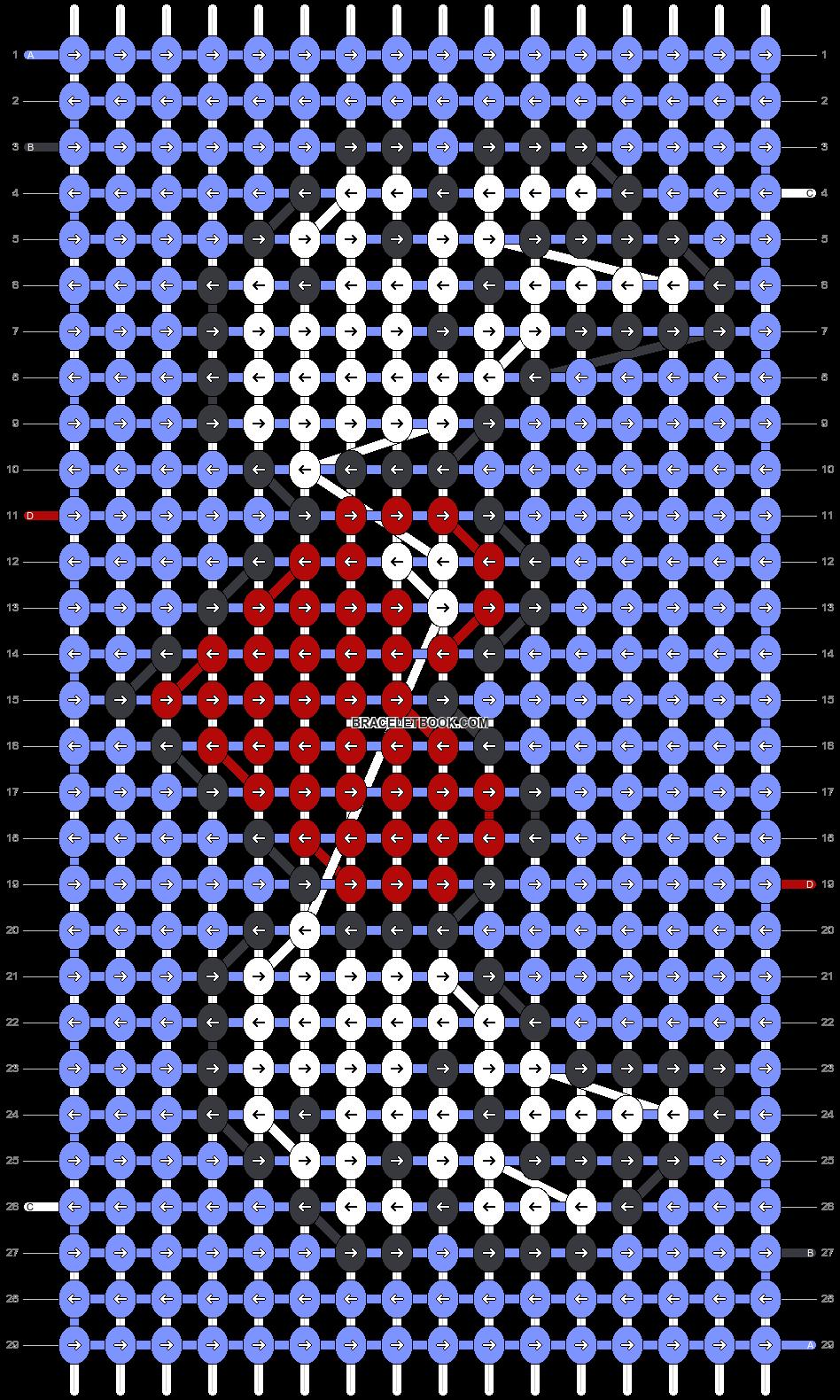 Alpha pattern #33828 pattern