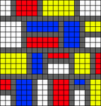 Alpha pattern #33870