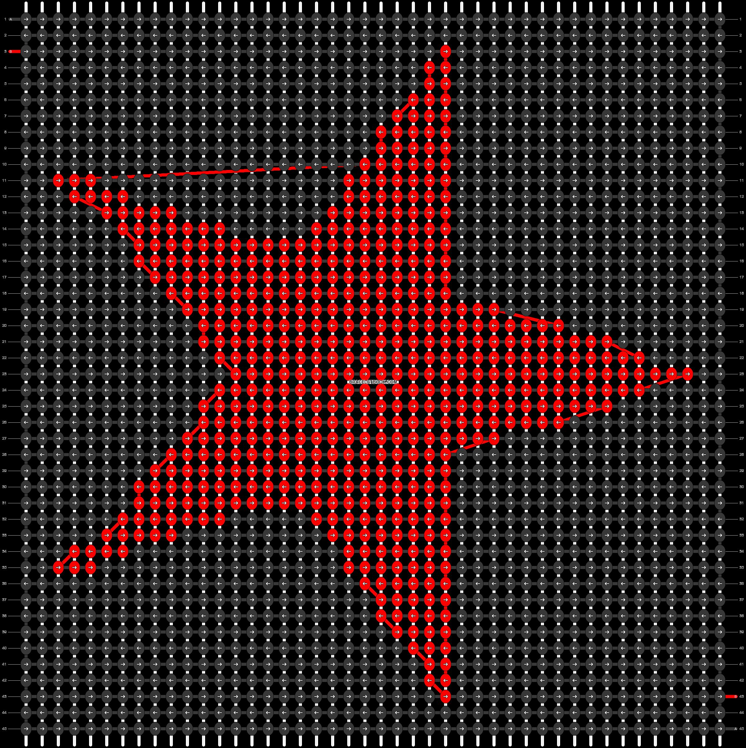 Alpha pattern #33871 pattern