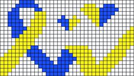 Alpha pattern #34040