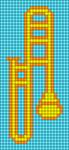 Alpha pattern #34059