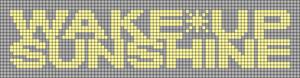 Alpha pattern #34077