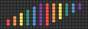 Alpha pattern #34087