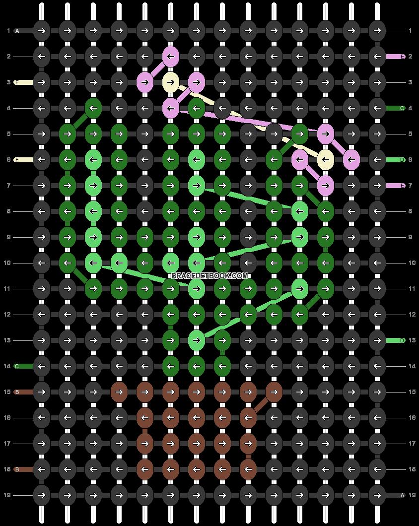 Alpha pattern #34091 pattern