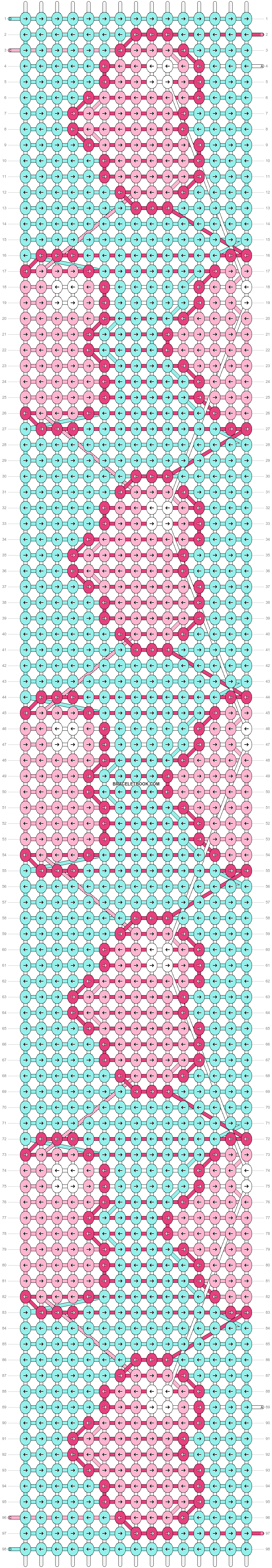 Alpha pattern #34105 pattern
