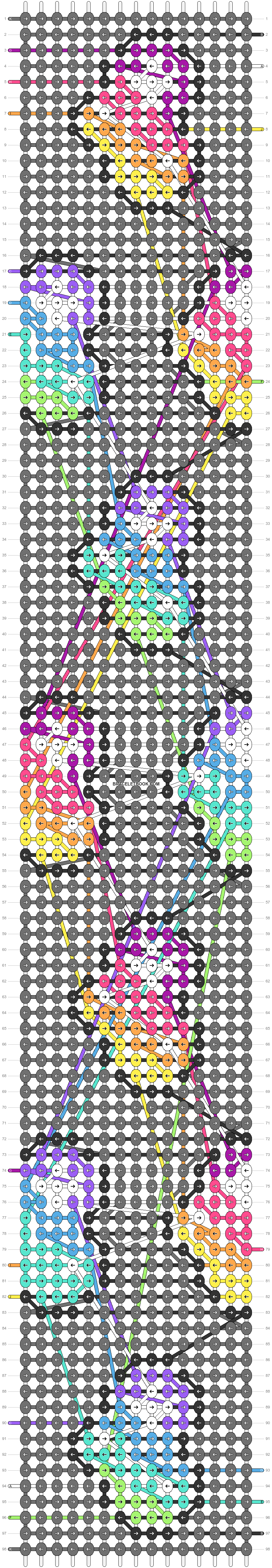 Alpha pattern #34106 pattern