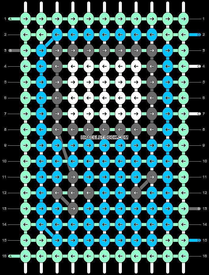 Alpha pattern #34123 pattern