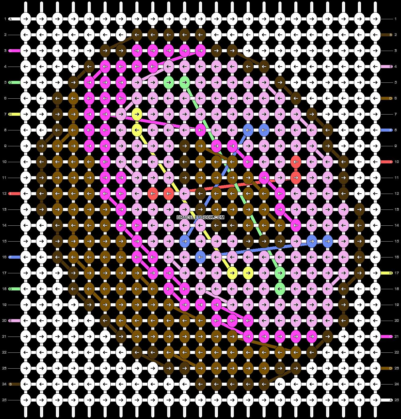 Alpha pattern #34207 pattern