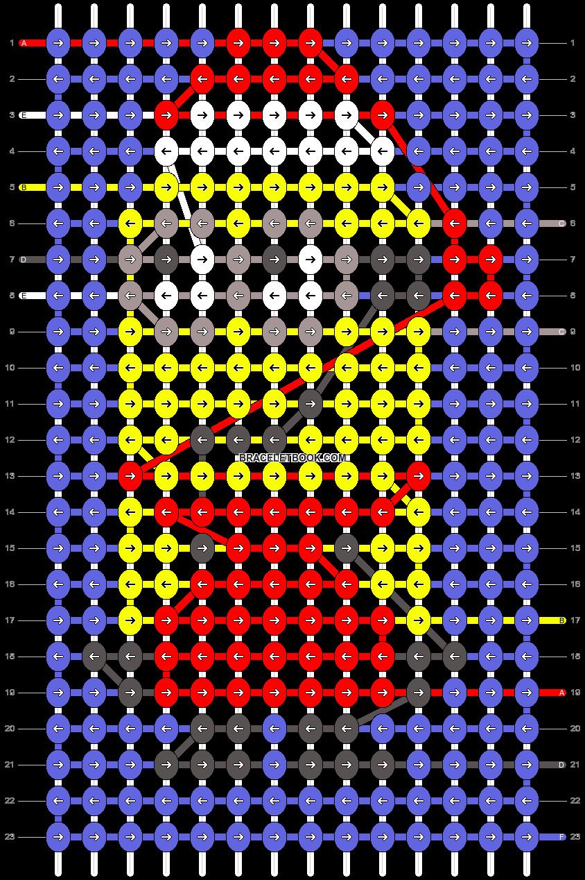 Alpha pattern #34253 pattern