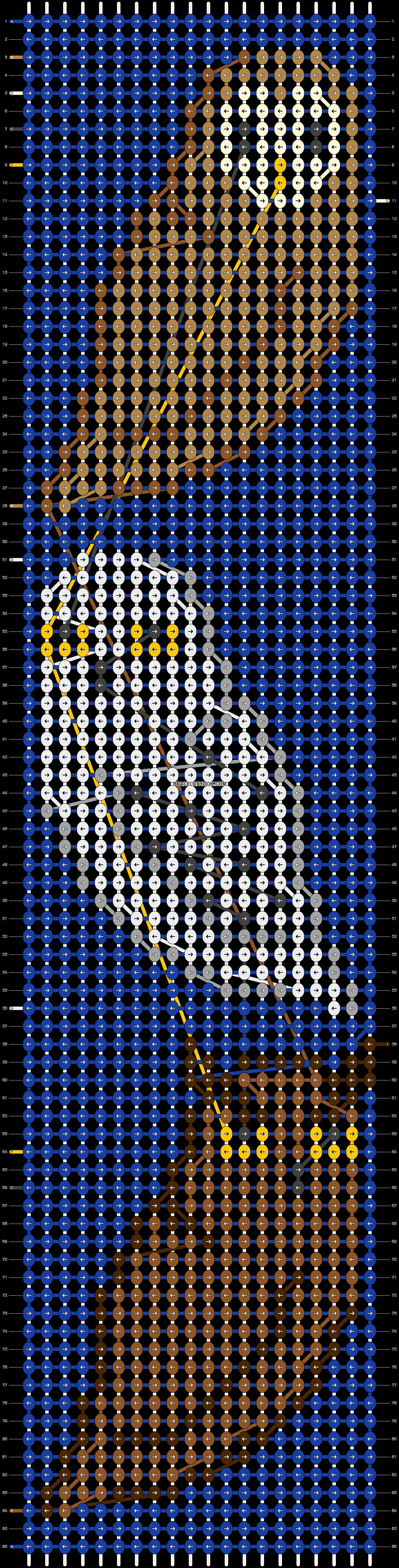 Alpha pattern #34255 pattern