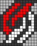 Alpha pattern #34256