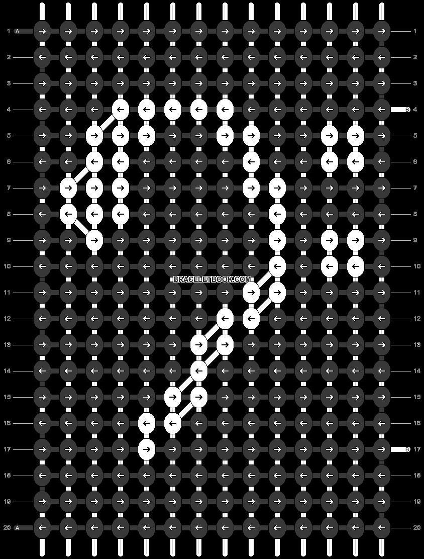 Alpha pattern #34268 pattern
