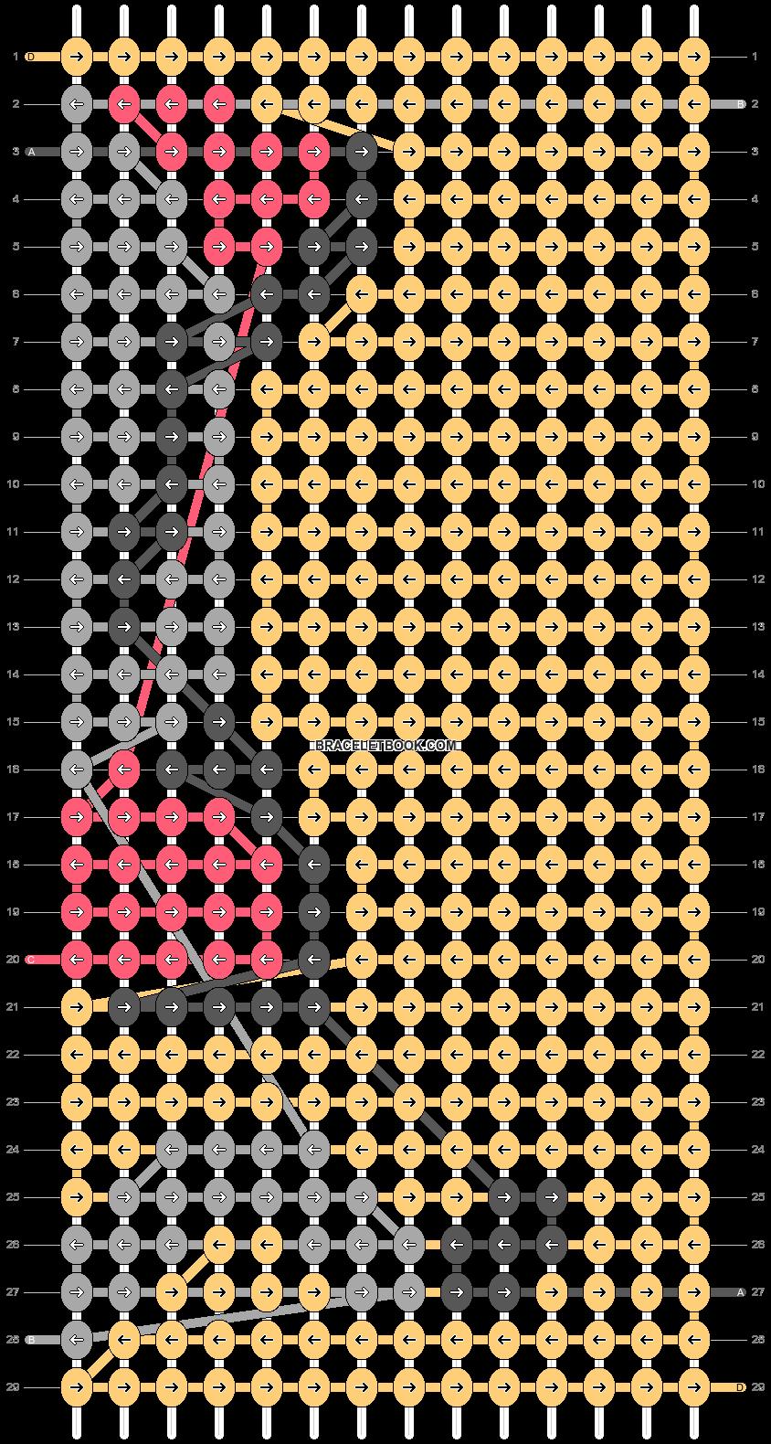 Alpha pattern #34270 pattern