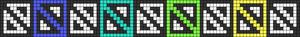 Alpha pattern #34280