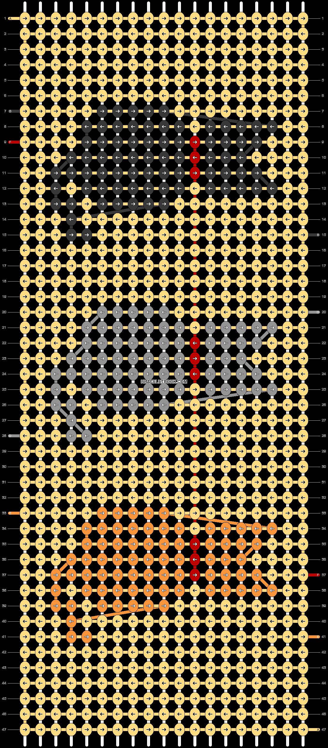 Alpha pattern #34312 pattern