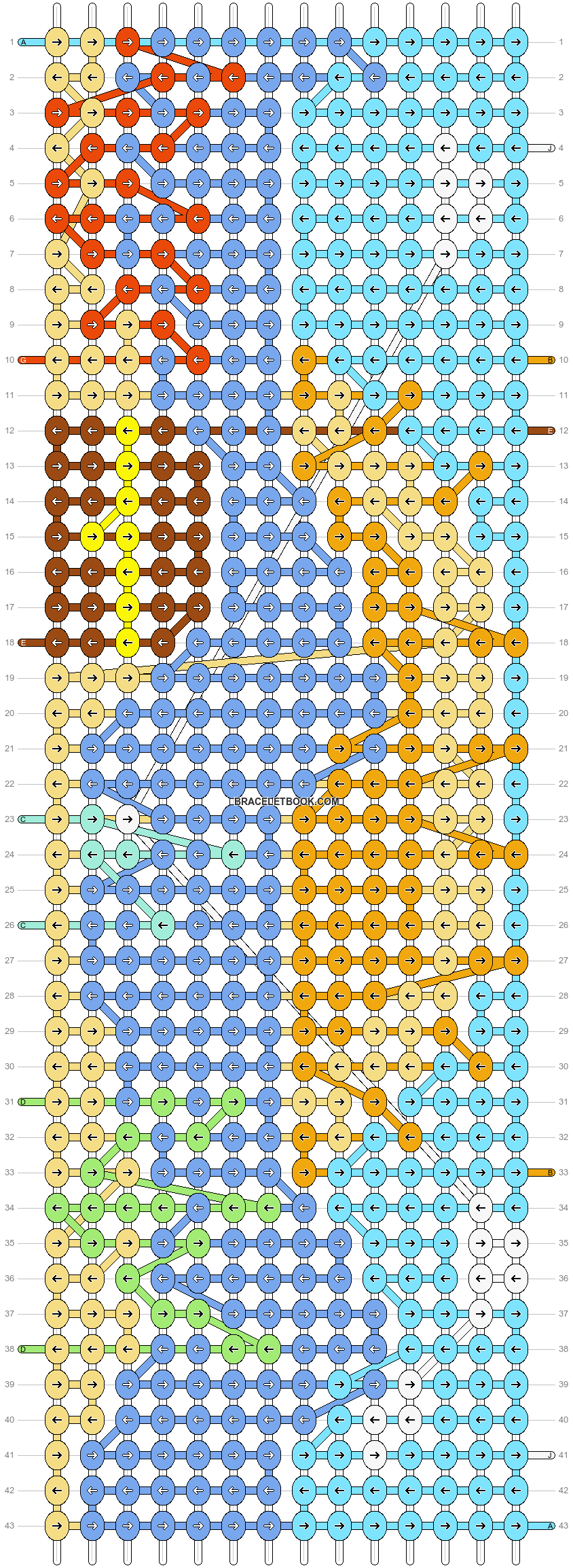 Alpha pattern #34334 pattern