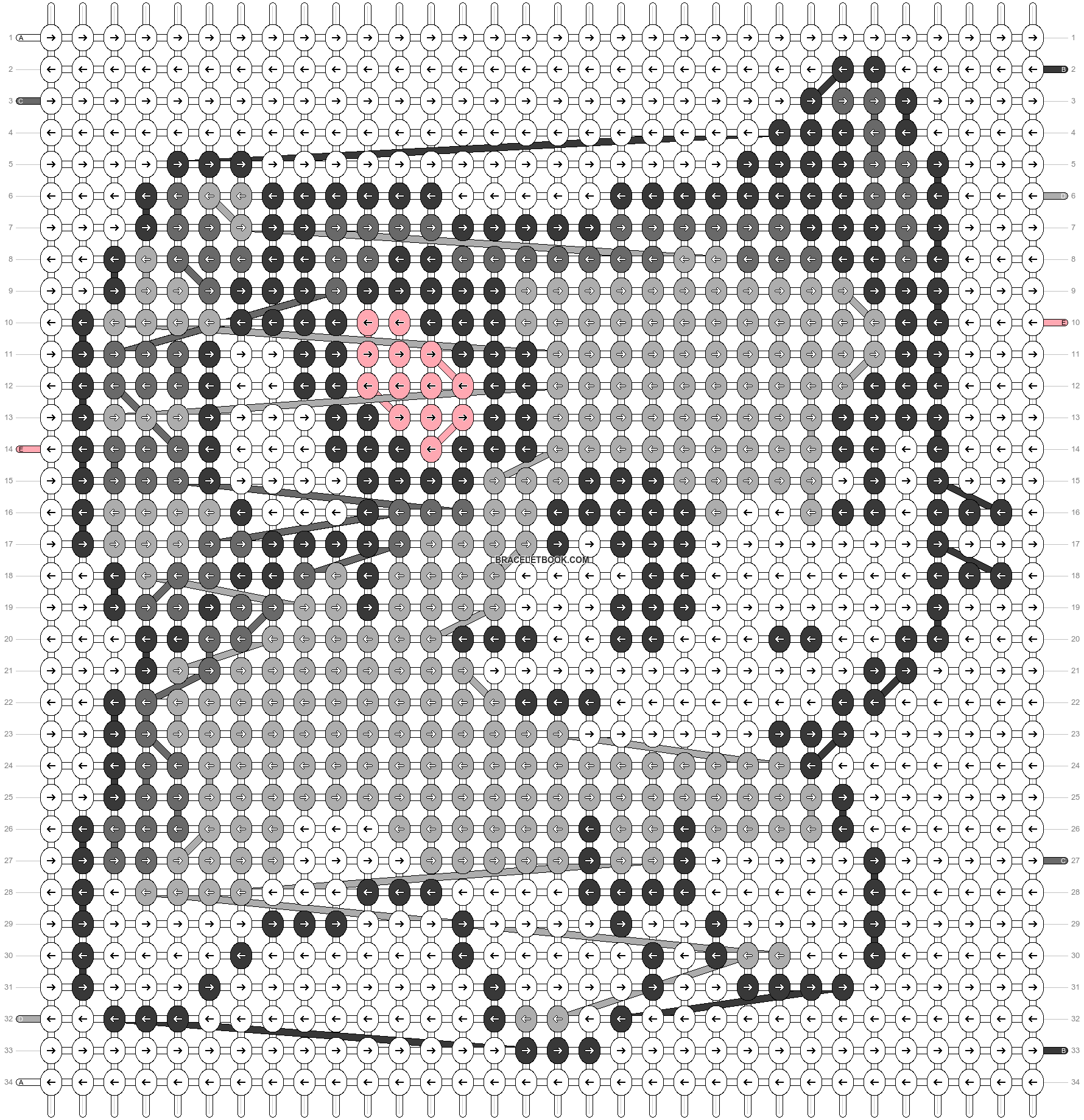 Alpha pattern #34346 pattern