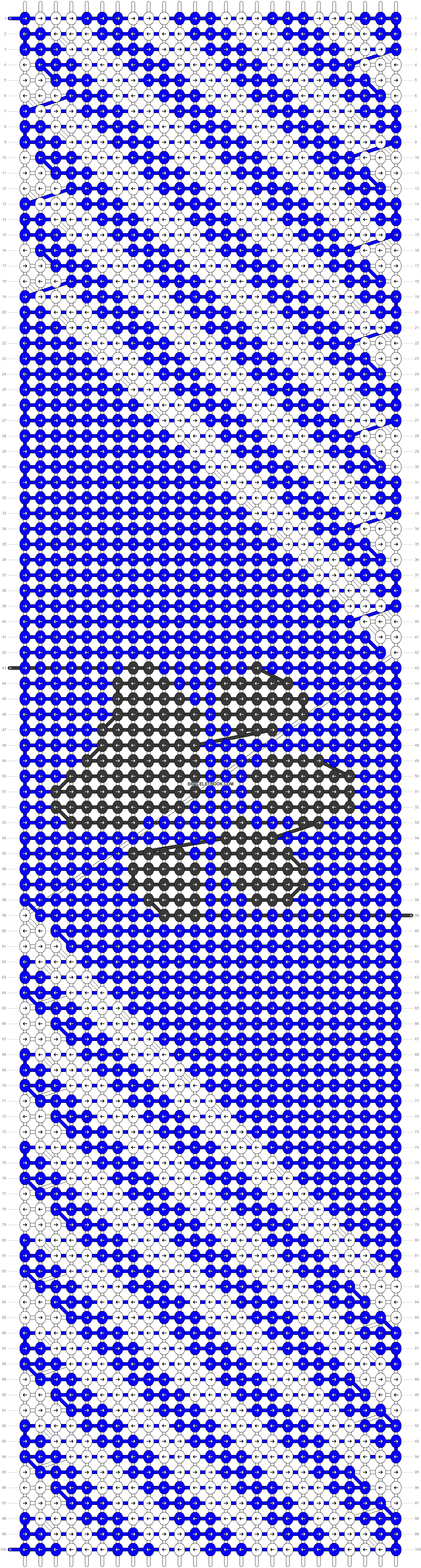 Alpha pattern #34370 pattern