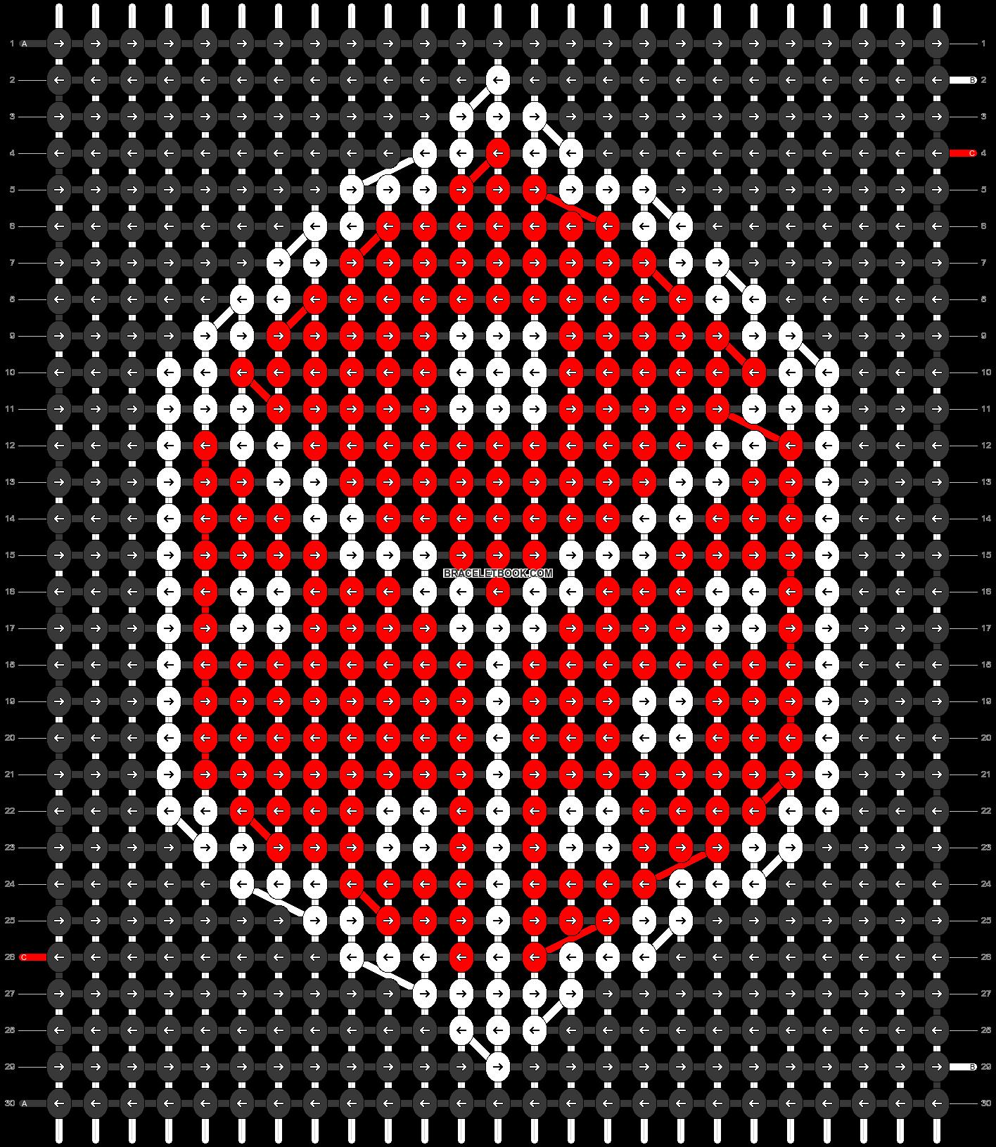 Alpha pattern #34371 pattern