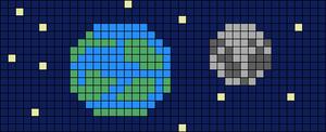 Alpha pattern #34393