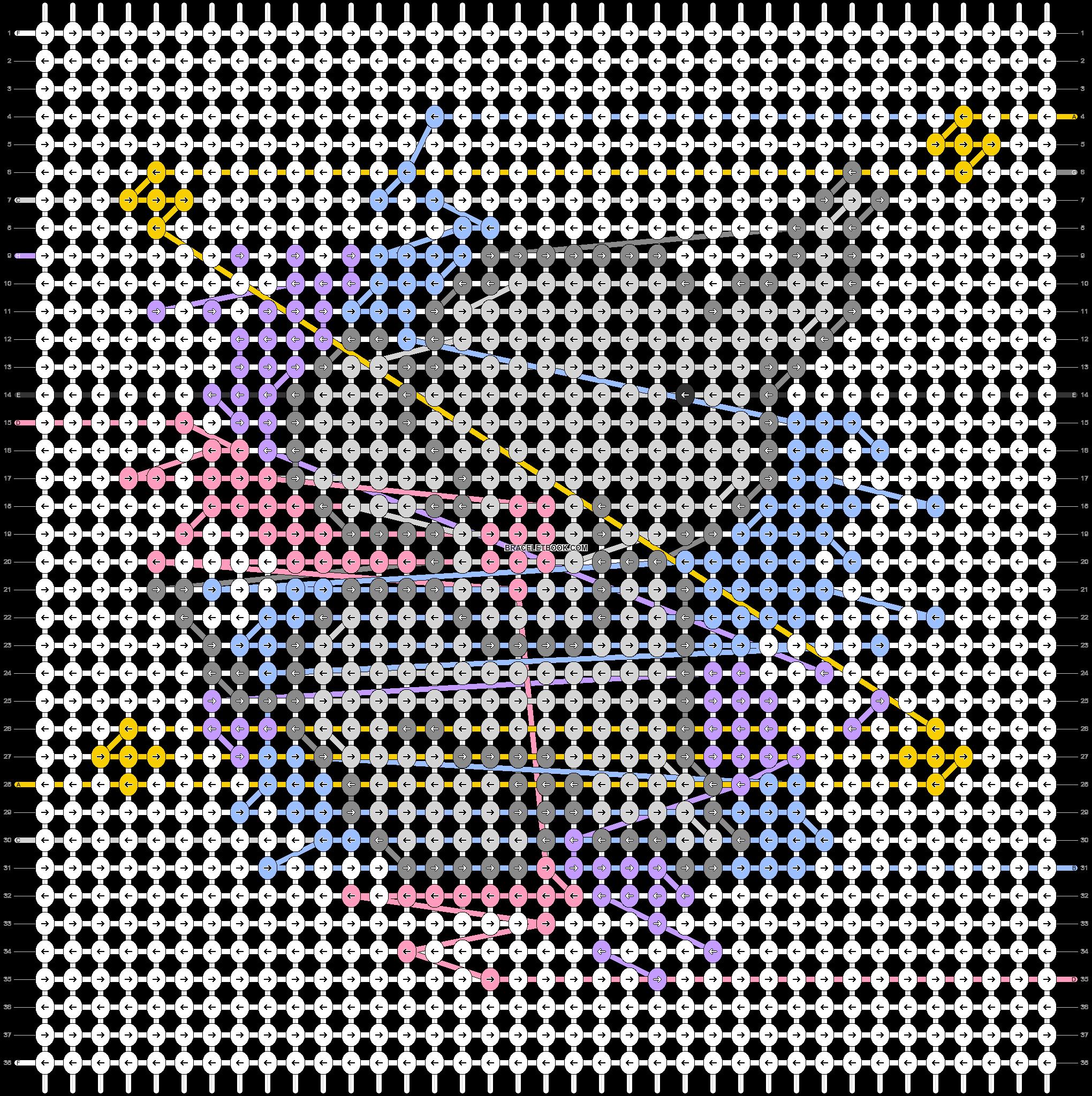 Alpha pattern #34441 pattern
