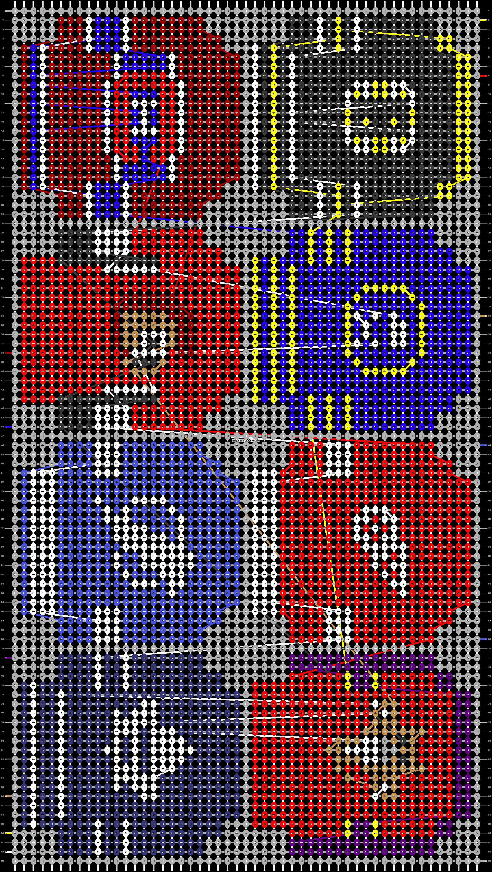 Alpha pattern #34443 pattern